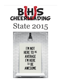 Barrington Cheerleading State Book 2015 book