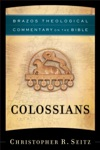 Colossians Brazos Theological Commentary On The Bible