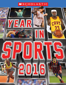 Scholastic Year in Sports 2016 book