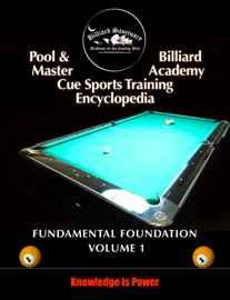 Pool & Billiard Master Academy Cue Sports Training Encyclopedia