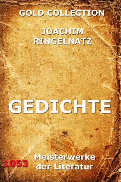 Gedichte By Joachim Ringelnatz On Apple Books