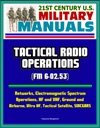 21st Century US Military Manuals Tactical Radio Operations FM 6-0253 - Networks Electromagnetic Spectrum Operations HF And VHF Ground And Airborne Ultra HF Tactical Satellite SINCGARS