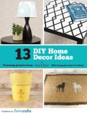 13 DIY Home Decor Ideas From Stencil Ease