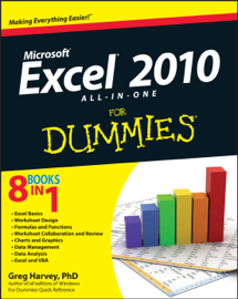 Excel 2010 All-in-One For Dummies book