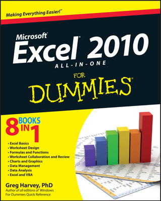 Excel 2010 All-in-One For Dummies - Greg Harvey book