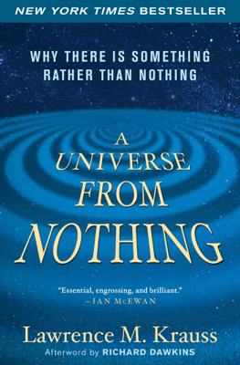 A Universe from Nothing - Lawrence M. Krauss book