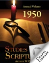 Studies In The Scriptures - Annual Volume 1950
