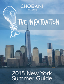 The Infatuation 2015 New York Summer Guide book