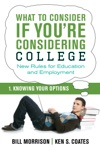 What To Consider If Youre Considering College  Knowing Your Options