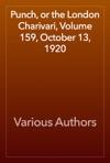 Punch Or The London Charivari Volume 159 October 13 1920