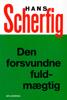 Hans Scherfig - Den forsvundne fuldmægtig artwork