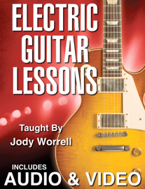 Electric Guitar Lessons book