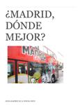 MADRID, ¿DÓNDE MEJOR?