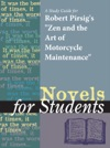 A Study Guide For Robert Pirsigs Zen And Art Of Motorcycle Maintenance