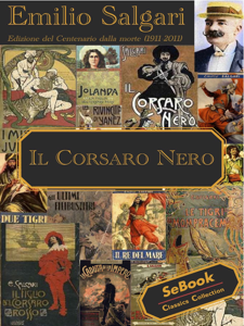 Il corsaro nero Book Cover