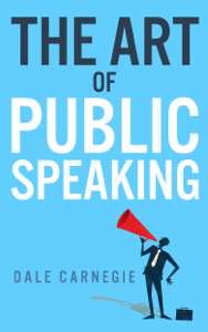 The Art of Public Speaking La couverture du livre martien
