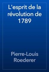 L'esprit de la révolution de 1789
