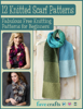 Prime Publishing - 12 Knitted Scarf Patterns: Fabulous Free Knitting Patterns for Beginners grafismos