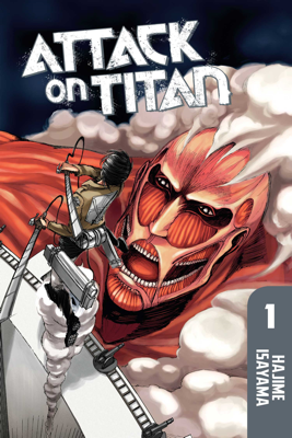 Attack on Titan Volume 1 - Hajime Isayama book