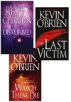 Kevin OBrien Bundle Disturbed The Last Victim Watch Them Die