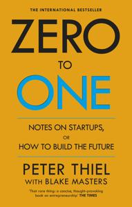 Zero to One La couverture du livre martien