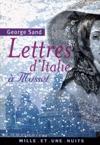 Lettres DItalie  Musset
