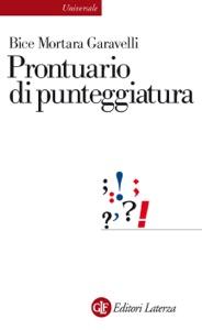 Prontuario di punteggiatura da Bice Mortara Garavelli