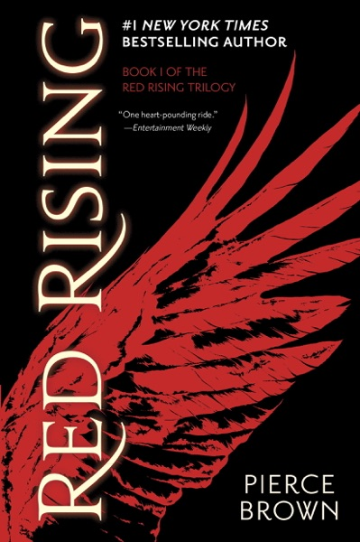 Red Rising - Pierce Brown book cover