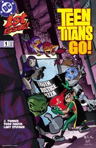 Teen Titans Go! (2003-) #1 Copertina del libro