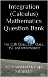 Integration Calculus Mathematics Question Bank