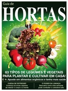 Guia de Hortas – Cultive legumes e vegetais em casa Book Cover