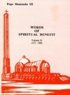 Words Of Spiritual Benefit Vol 4
