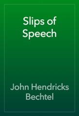 Slips of Speech