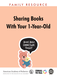 Sharing Books with Your 1-Year-Old book