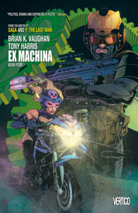 Ex Machina Book Four Copertina del libro