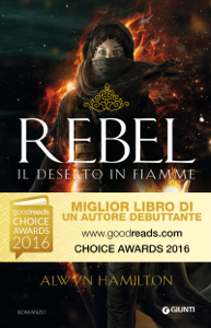 Rebel. Il deserto in fiamme Libro Cover