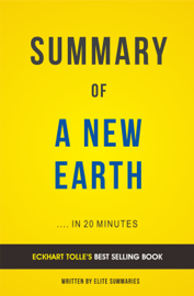 A New Earth: by Eckhart Tolle | Summary & Analysis book