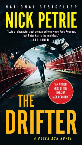 The Drifter - Nick Petrie book cover