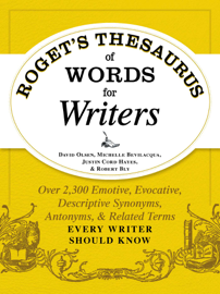 Roget's Thesaurus of Words for Writers book