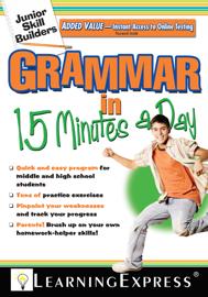 Junior Skill Builders: Grammar in 15 Minutes a Day book