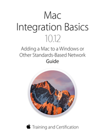 Mac Integration Basics 10.12 book