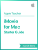 Apple Education - iMovie for Mac Starter Guide macOS Sierra artwork