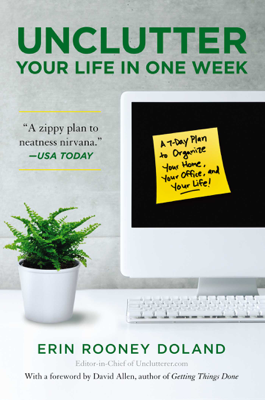 Unclutter Your Life in One Week - Erin Rooney Doland book