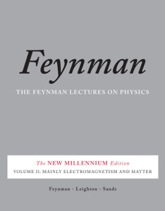 The Feynman Lectures on Physics, Vol. II Book Cover