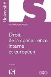 Droit De La Concurrence Interne Et Europ En