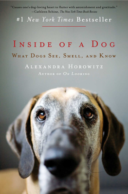 Inside of a Dog - Alexandra Horowitz book