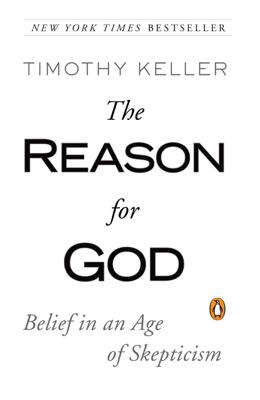 The Reason for God - Timothy Keller book