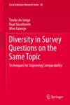 Diversity In Survey Questions On The Same Topic