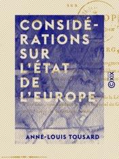 Download Considérations sur l'état de l'Europe - Sur les résultats qui peuvent naître du traité de Presbourg