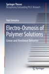 Electro-Osmosis Of Polymer Solutions